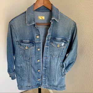 MOTHER elastic denim jacket